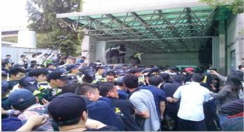삼성 노동자 시신침탈, 경찰-삼성 공모 없이 가능했을까