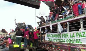 콜롬비아 원주민 7천명, 대통령 만나러 600km 이동…대통령은 거부