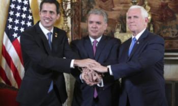 """국내 사회운동, """"미국은 베네수엘라에..."""