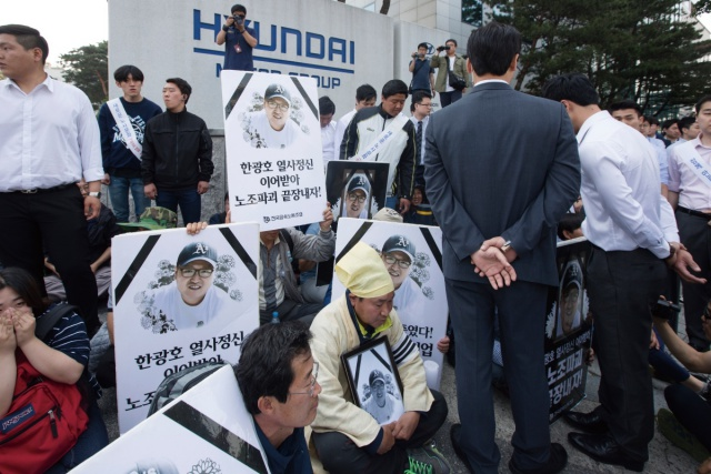 유성기업, 갑을오토텍 노동자들 전국순회투쟁 떠난다