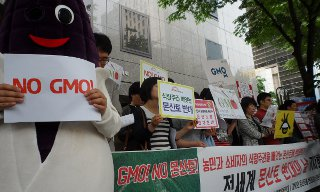 GMO 연구시설 공개와 실태조사 무산