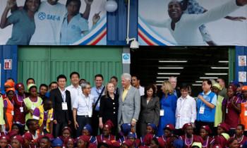 반기문 총장, 아이티 재건 구실로 힐러리 측근과 한국기업 연결 의혹