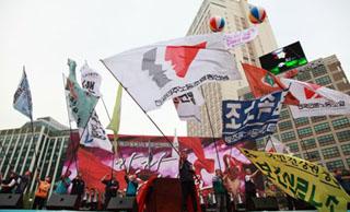 민주노총 임원 직선제, 위원장 후보군만 8명...통합논의 중단