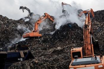 생납리(生垃里) - 의성 쓰레기산
