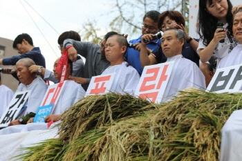 정부 농업정책 대폭 후퇴...농민들,