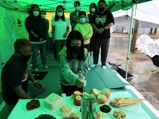 추석상에 놓인 건강보험공단 비정규직 노동자의 소원