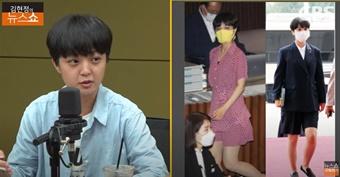 """복장 논란 속 류호정 의원, """"남성 중심 국회 깨 보고 싶어"""""""