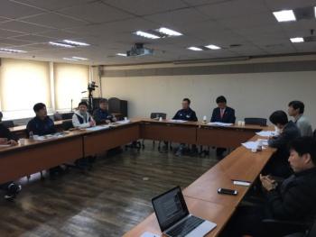 김선동 민중연합당 후보, 민주노총과 대선 의제 간담회