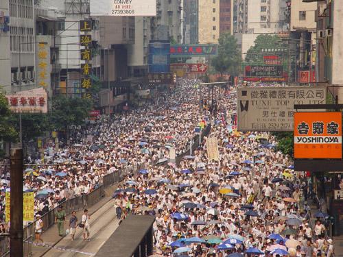 WTO 홍콩투쟁, 낡은 국제주의 - 새로운 행동주의