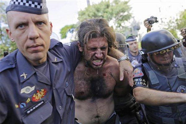브라질, 월드컵 결승전에 2만5천 병력 배치...60명 사전 체포