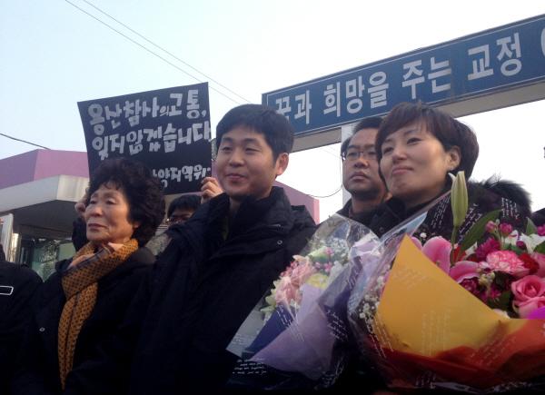 """용산참사 구속자 5명 출소...""""용산참사 진상규명 시즌2 시작"""""""