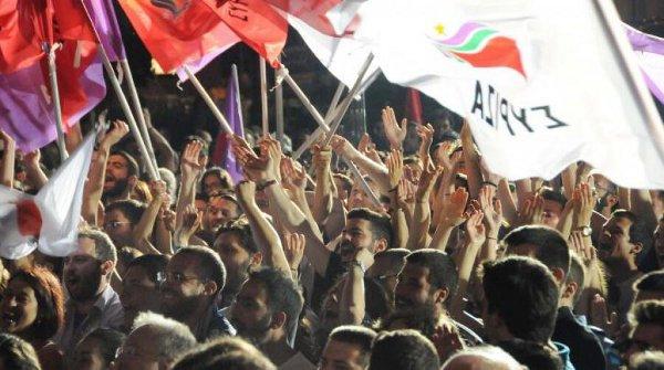 그리스 좌파 시리자 부동의 1위...유럽경제위기에 반격?