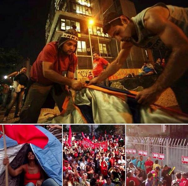 브라질 월드컵 15일, 'FIFA 대 민중'의 전반전은?