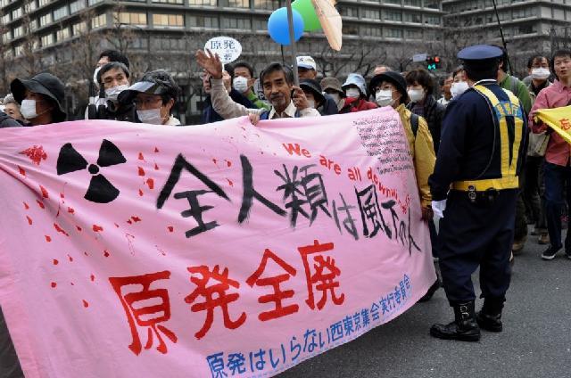 2013년 3.10 원전 제로 대행동(일본, 도쿄)