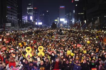 이재용 구속 기각에 분노한 광장…광화문 35만 운집